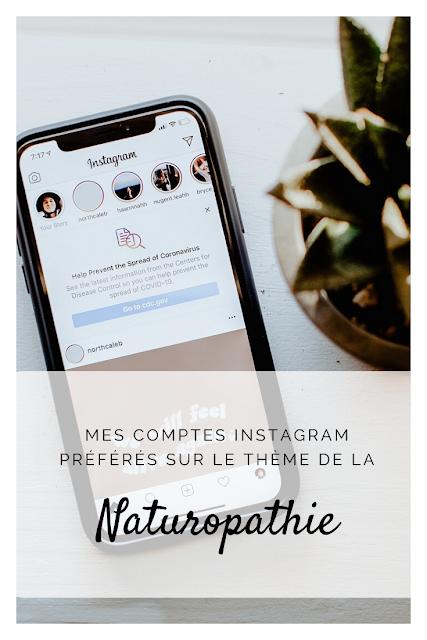 Epingle Pinterest de mes comptes Instagram préférés sur la naturopathie
