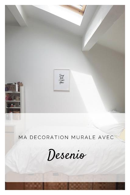 Epingle Pinterest Ma Décoration murale avec Desenio
