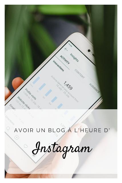 Avoir un blog à l'heure d'Instagram