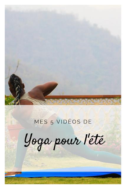 séances Youtube de yoga pour l'été